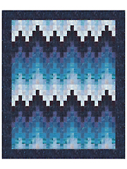 Bargello Breakers Quilt Pattern