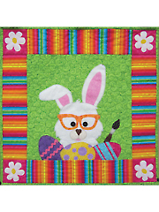 Bunny Business Wall Hanging Pattern