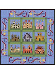 Castles Quilt Pattern