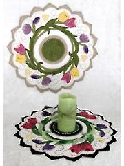 Tulip Swirl Table Topper Pattern