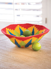 ANNIE'S SIGNATURE DESIGNS: Blooming Bowl Crochet Pattern