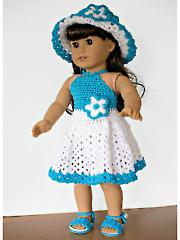 Dolly Halter Dress Set