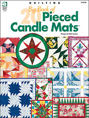 Big Book of 20 Pieced Candle Mats