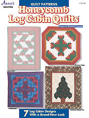 Honeycomb Log Cabin Quilts