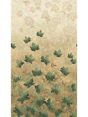 Green Maplewood Leaves 1/2 Yard Cut