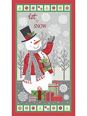 "Let It Snow Panel 24"" x 44"""