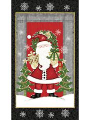 """Santa Panel 24"""" x 44"""""""