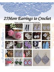 25 Crochet Earrings Vol II