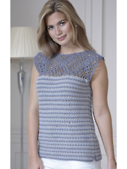 5114: Top and Cardigan Crochet Pattern