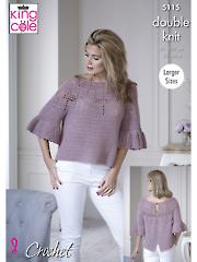 5115: Top Crochet Pattern