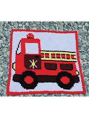 Firetruck Afghan