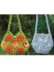 Garden of Zinnias and Whirligig Bags