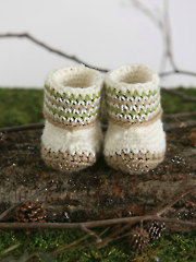 Woodland Baby Booties
