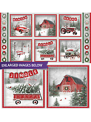 """Holiday Wishes Block Panel 24"""" x 44"""""""