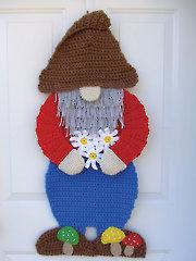 Gnome Door Hanging Crochet Pattern