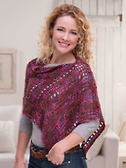 Pretty Tunisian Topper Crochet Pattern