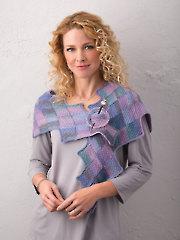 Garden Steps Shawlette Crochet Pattern