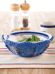 Microwave Bowl Cozy Crochet Pattern