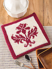 Belle Fleur Hot Pad Crochet Pattern