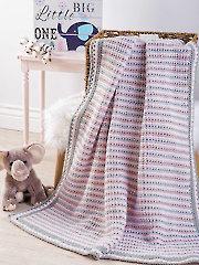 Belcrest Baby Blanket Crochet Pattern