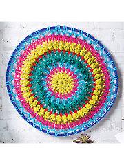 Retro Mandala Crochet Pattern
