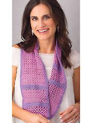 All Seasons Infinity Scarf Crochet Pattern