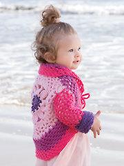 Mini Me Cardi Crochet Pattern