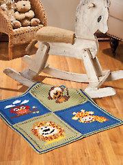 Friendly Faces Blanket Crochet Pattern