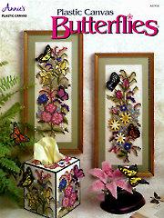 Plastic Canvas Butterflies