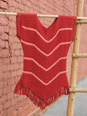 Flirty Chevron Top Crochet Pattern
