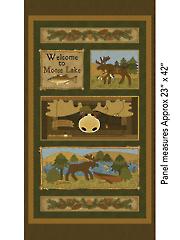 """Moose Lake Panel 23""""x 44"""""""