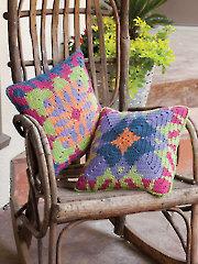 Tapestry Pillows Crochet Pattern
