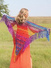 Keep It Simple Shawl Crochet Pattern