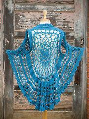 Flora Circle Vest Crochet Pattern