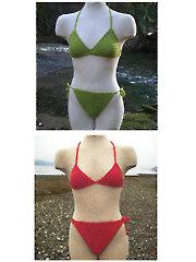 Basic String and Rio Cut Bikinis