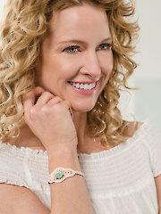 Gemstone Bracelet Crochet Pattern