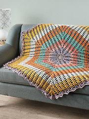 Summer Morning Throw Crochet Pattern