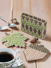 Golden Accent Coasters