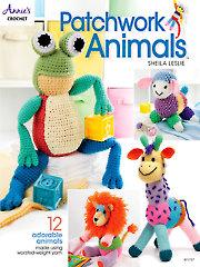 Patchwork Animals Crochet Pattern Book