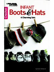 Infant Boots & Hats Crochet Pattern