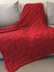 Brickwork Afghan Crochet Pattern