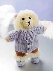 Eskimo Bear Crochet Pattern