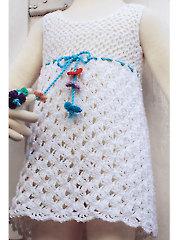 Lacy Halter Dress Crochet Pattern
