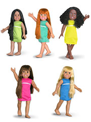 "The Springfield Collection� 18"" Dolls"