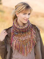 ANNIE'S SIGNATURE DESIGNS: Western Romance Cowl Crochet Pattern