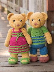 ANNIE'S SIGNATURE DESIGNS: Irene & George Crochet Pattern