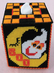 """Halloween """"Boo""""tique Cover Pattern"""