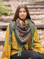 ANNIE'S SIGNATURE DESIGNS: Hidden Hills Shawl Crochet Pattern