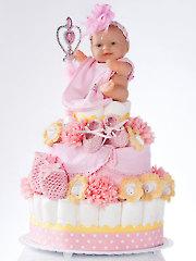 A Star Is Born Diaper Cake Crochet Pattern