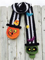 Top Hat Scarf Crochet Pattern